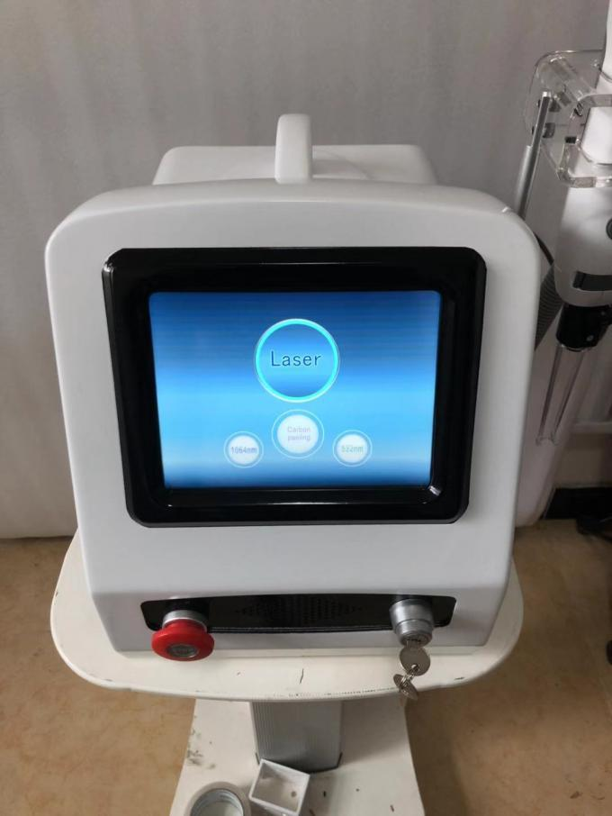 Q Switch Table Pico ND Yag Laser Tattoo Removal Machine Customized Language
