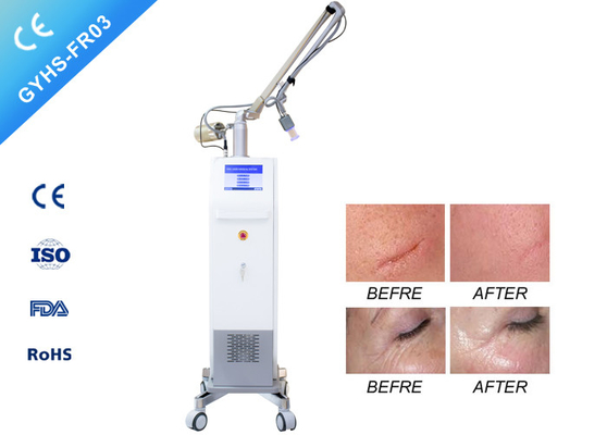 3 In 1 System CO2 Laser Beauty Equipment For  For Acne Scars Removal Safe