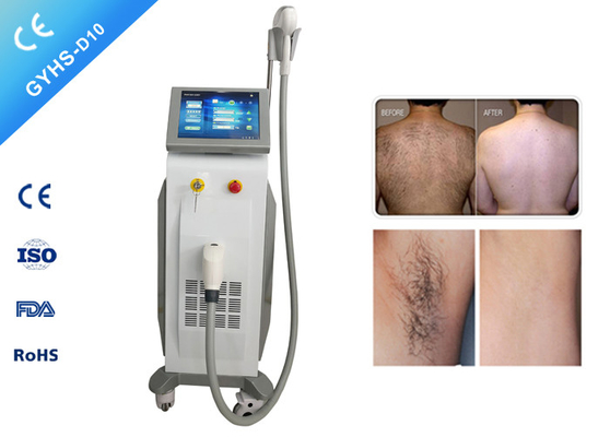 China 1-15hz Diode Laser Hair Removal Machine 12*12mm Spot Size For Clinic supplier