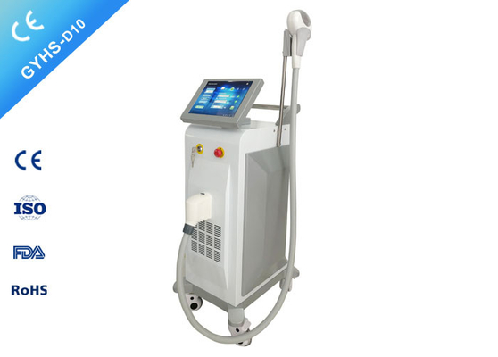 China Salon Permanent Hair Removal Device / Painless Laser Hair Removal For Blonde Hair supplier
