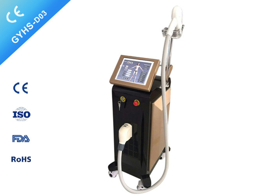 China CE Laser Beauty Machine , 12 * 24mm Spot Size Laser Hair Removal Machine For All Skin distributor