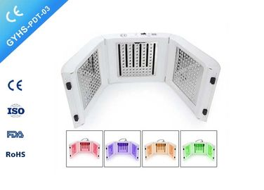 China Aesthetic Facial LED Photodynamic Therapy Machine 4 Light Color Photon Therapy distributor