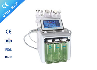 China 6in1 Hydrafacial Microdermabrasion Machine / H2O2 Aqua Facial Peeling Hydrafacial Machine factory