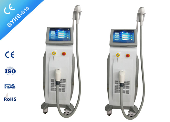 China Stationary 1200W Diode Laser Hair Removal Machine 10.4 '' Color Touch LCD Screen distributor