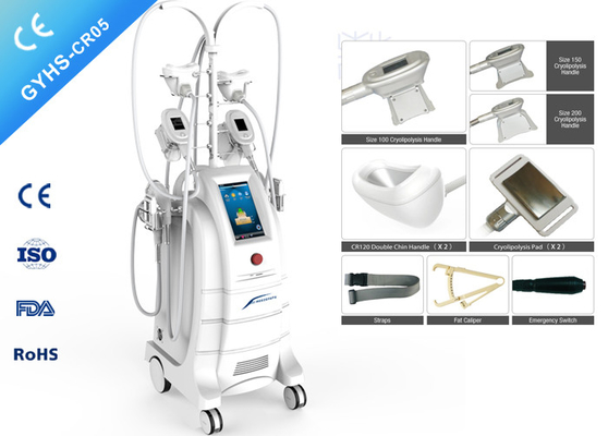 China Weight Loss Cryolipolysis Body Slimming Machine 800W With Chin Handpiece factory