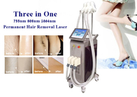 Painless 808nm Diode Laser Hair Removal Machine Full - Automatic Control